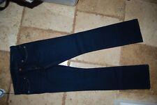 NWT Dark Blue Denim CHIP & PEPPER Stella Boot Cut Stretch Jeans 27