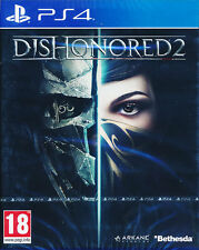 Dishonored 2 PS4 Game BRAND NEW SEALED
