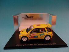 SUZUKI IGNIS S1600 #37- SCORCIONI - RALLY MONTE CARLO 2005  1/43 NEW SPARK S0625