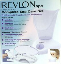 Revlon RVS1223PK1 Moisture Stay, Nail/Facial Kit, White - NEW IN BOX - #M3