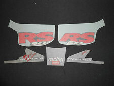 Brand New ORIGINALE APRILIA RS 50 1998 NERO POSTERIORE Carenatura Decalcomania Set ap8257018