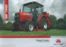 Farm Tractor Brochure - Massey Ferguson - MF 1500 series Compact - 2005 (F4467)