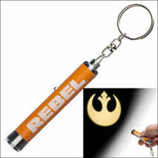 Star Wars Rebel Alliance Icon Logo Signal Projection Flashlight Keychain NEW