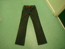 "Per Una Roma Stretch Leg Jeans Size 10L Leg 33"" Black Faded Ladies Jeans"