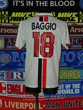3.5/5 AC Milan original adults L 1995 #18 Baggio football shirt jersey trikot