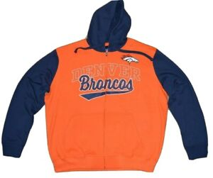 DENVER BRONCOS OFFICIAL NFL GIII CONTRAST HOODIE & T-SHIRT COMBO-SIZE 2XL-NWT