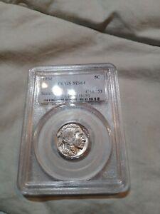 1934 Buffalo Nickel - PCGS MS 64