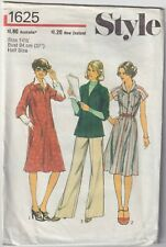 Style Vintage Sewing Pattern - Women's Clothing - 1625