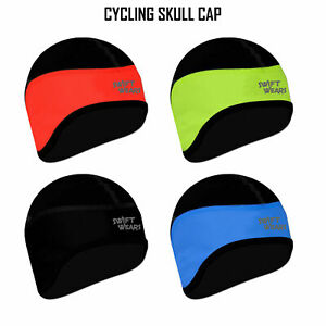 Cycling Skull Cap Winter Under Helmet Cycle Windstopper Thermal One Size