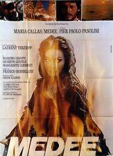 Affiche 120x160cm MÉDÉE (MEDEA) 1970 Pier Paolo Pasolini - Maria Callas NEUVE