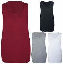 Skull Stretch Sleeveless Tops & Shirts for Women