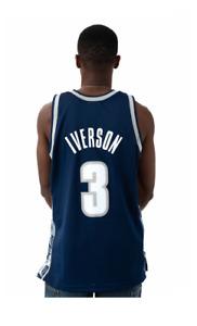 Mitchell & Ness Georgetown UNIVERSITY Hoyas 1995-96 Iverson SWINGMAN Jersey XS