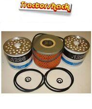 David Brown Tractor 990,995 996 Filter set, 2 Fuel Filters 1 Engine oil filter.