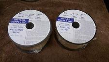 2 Spools  E71T-GS  .045 Flux Core Gassless welding wire   2-2 pound spools  045