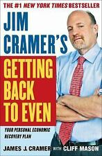 Jim Cramer's Getting Back to Even-ExLibrary
