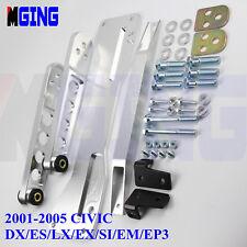 Rear Subframe Brace Control Arm LCA Tie Bar For 01-05 Honda Civic DX ES LX EX s