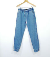 REFUGE Denim Jogger Size 10 Light Blue EUC