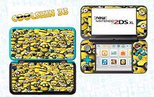 MIGNONS - vinyl Skin Aufkleber für Nintendo NEW 2DS XL - réf 200