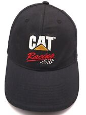CAT (CATERPILLAR, INC.) RACING : NC Machinery black adjustable cap / hat