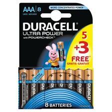 8 x Duracell DURALOCK MX2400, LR03 Ultra Power AAA PILE ALCALINE MN2400