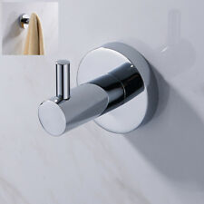 Bathroom Modern Towel Robe Hook Clothes Hat Holder Wall Door Hanger Chrome Room