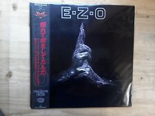 EZO E Z O Excellent Vinyl Record VIH 28281 1987 Japanese Press Obi Strip