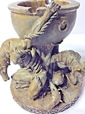 Vintage Vandor Mythical Gothic Resin Centaur Ashtray Statue Unique Collectible