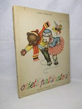 Colombini Monti - Orsetti pattinatori - Ed. Piccoli 1951 Illustrazioni MARIAPIA
