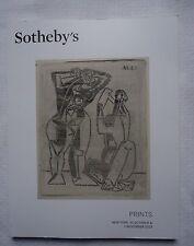 Sotheby's Prints Catalog October 31 November 2013 New York