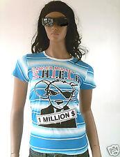 Bandit Mouse Rockabilly Emo Ska Punk Rings T-Shirt S-M