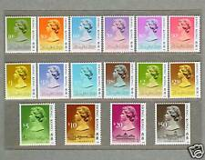Hong Kong 1991 QEII Definitive Stamp Full Set