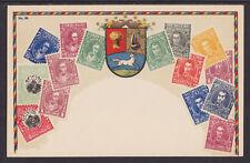 Zieher #33 unused PPC. Stamps of Venezuela, Flat