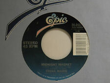 Teena Marie 45 MIDNIGHT MAGNET / instrumental ~ Epic VG++ soul