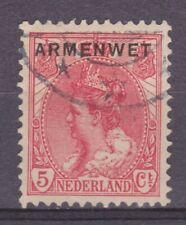 Dienst zegel 6 armenwet used NVPH Netherlands Nederland Pays Bas COUR