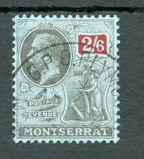Montserrat 1922-29 2/6 SG80 FU cat £65