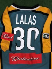Alexi Lalas MATCH SHIRT Los ANGELES GALAXY 2001