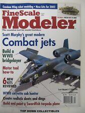 Fine Scale Modeler Magazine  April 2002  Scott Murphy's Combat Jets