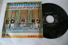 """THE DAVE CLARK FIVE""""CATCH US IF YOU CAN-DISCO 45 giri COLUMBIA italy 1965"""""""