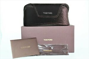 NEW TOM FORD CASE BROWN SOFT LARGE SUNGLASSES CASE