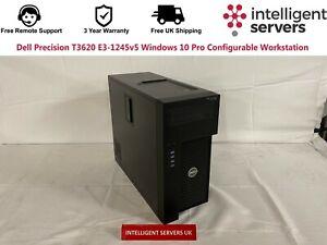 Dell Precision T3620 Xeon E3-1245v5 Windows 10 Pro Configurable Workstation