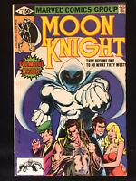 🌑 MOON KNIGHT #1 (1980)  VF/NM Bill Sienkiewicz 1st Bushman and Khonshu