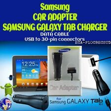 Genuine SAMSUNG CAR ADAPTER CHARGER 30 pin for GALAXY TAB TAB 2 NOTE 10.1