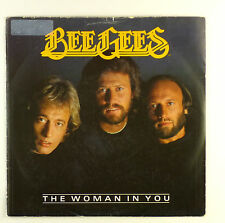 """7"""" Single - Bee Gees - The Woman In You - #S1049 - Soundtrack - washed & cleaned"""
