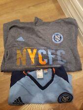 New York CITY Football Club Hoodie and T Shirt Adidas MLS