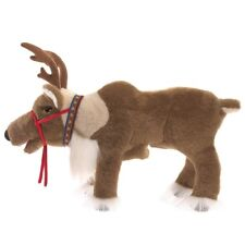 Reindeer Hand Puppet by Folkmanis MPN 3121, Movable Mouth, Boys & Girls, 3 and U