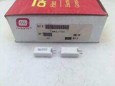 (10 pcs ) TWM3J100 Ohmite, 3 Watt 100 Ohm 5%, Ceramic Housed Power Resistor
