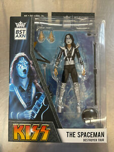 BST AXN KISS Spaceman Destroyer Tour action figure NEW Ace Frehley MIB