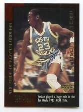 1999 UPPER DECK BASKETBALL THE EARLY YEARS #8 MICHAEL JORDAN VERY NICE