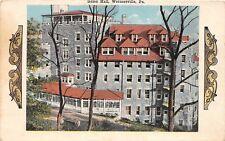 D68/ Wernersville Pennsylvania Pa Postcard c1915 Galen Hall Fancy Border