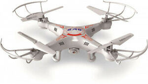 Syma X5C-1 RTF 31 cm weiß/rot 8-teilig Drohne HD-Kamera Foto Video Quadrokopt...